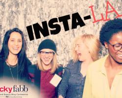 INSTA-LA :: LA & Lucky Fabb via InstaGram