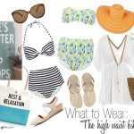 What to Wear :: The High Waist Bikini
