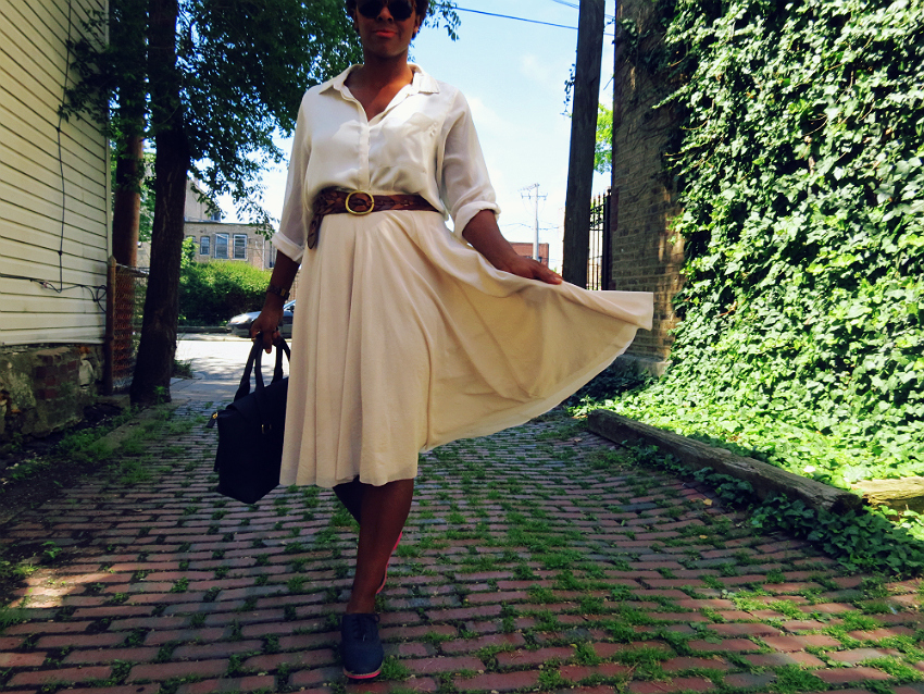 hm-blouse-midi-skirt-justfab-brogues-midtown-handbag-pinspired-5