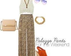 Palazzo Pants are the new Maxi Dress
