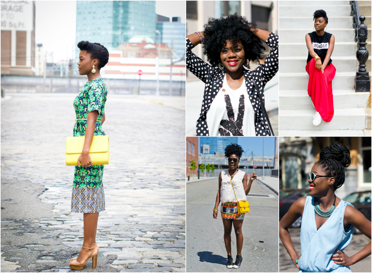 natural hair fashion blogger