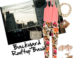 What to Wear :: Summer Rooftop Party