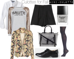 How To Style :: Culottes for Fall