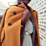 Snow Flakes Keep Falling on my Head :: Faux fur vest & Winter maxi dress
