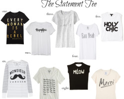 Friday Finds :: Statement Tees