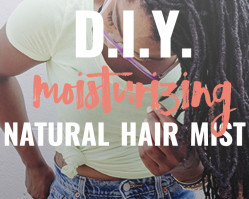 D.I.Y. Moisturizing Mist for Natural Hair