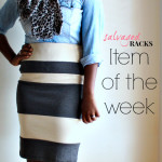 Item of the Week :: Striped Pencil Skirt
