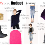 Style on a Budget – January // My First Video!!