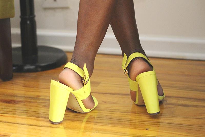 neon-block-heel-sandals