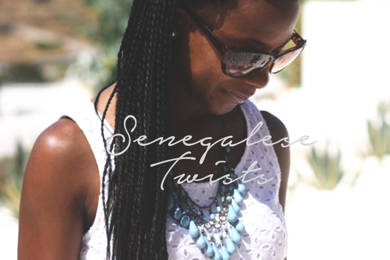 ... senegalese twists are also installed similarly to marley and havana