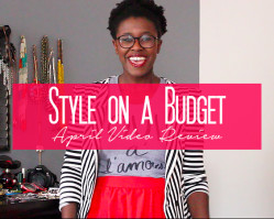 Style on A Budget // April