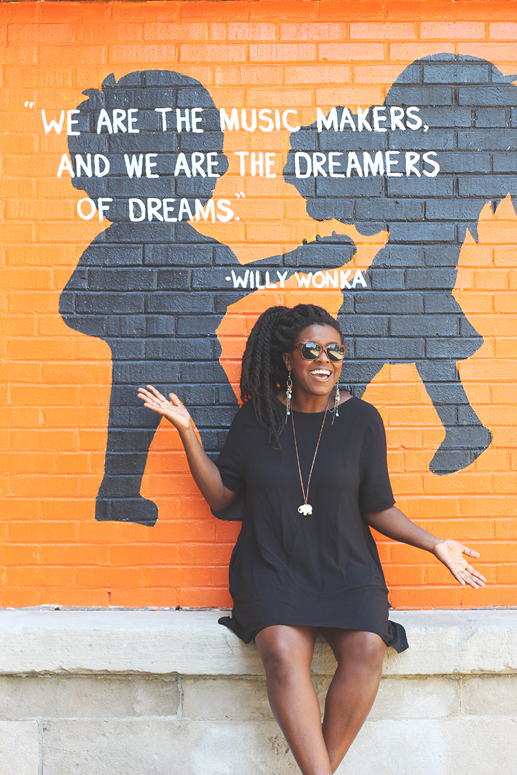we are dreamers of dreams willy wonka