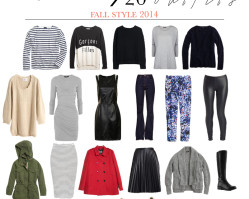 Fall Style 2014: 20 Pieces / 20 Outfits