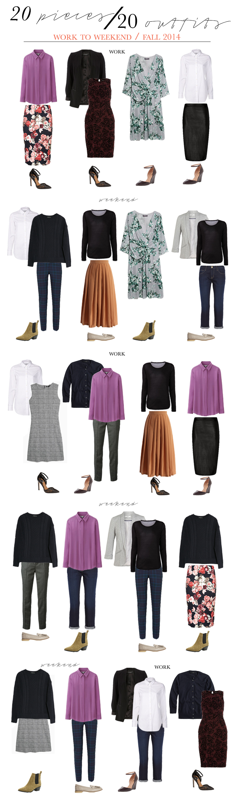 20pieces-20outfits-workweekend