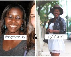 diary of an average black girl | a before & after story