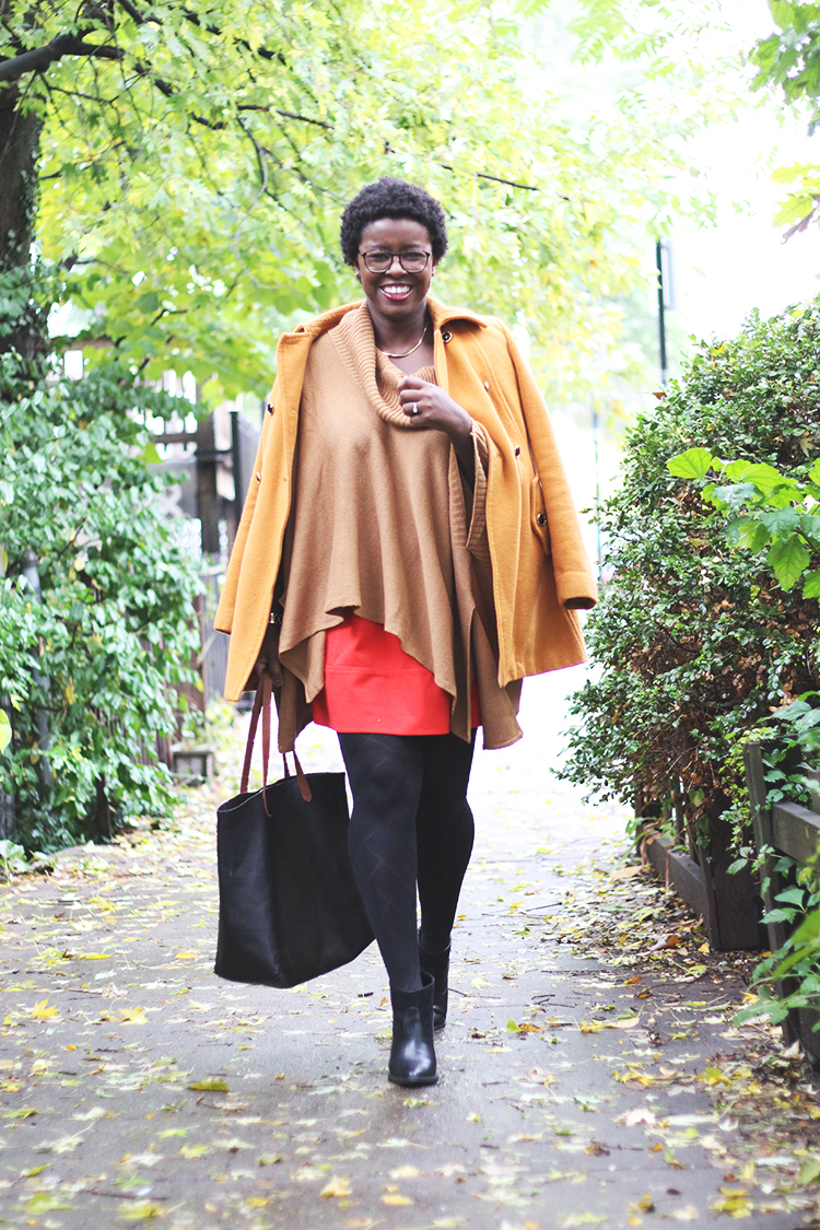 camel-poncho-pumpkin-pea-coat-western-ankle-booties-olivia-pope-style-3