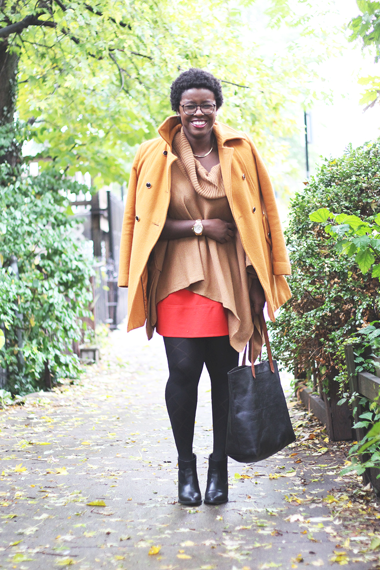 camel-poncho-pumpkin-pea-coat-western-ankle-booties-olivia-pope-style