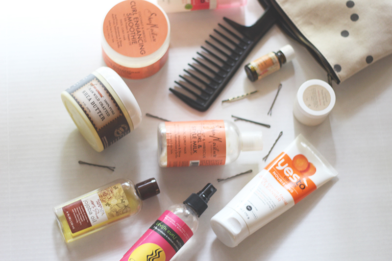 quick & easy daily skin + natural hair care routine