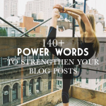 simply blog: 140 {plus!} power words to use & influence your readers