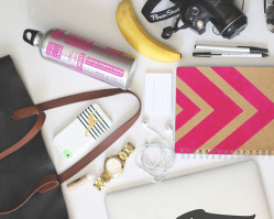 what's in my bag | blogger conference edition