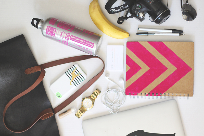 whats-in-my-bag-blogger-conference