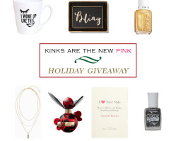 Kinks are the new Pink Holiday Giveaway! – CLOSED