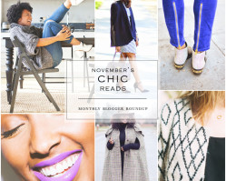 November's Chic Reads | Blogger Roundup