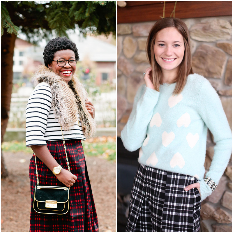 How to Style Plaid for the Holidays with Katelyn Now