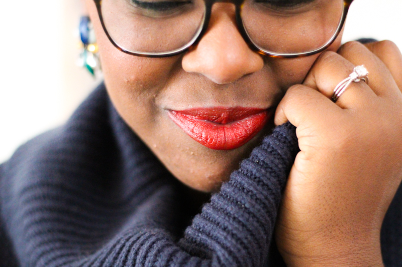 4 Holiday Red Lipsticks for Dark Skinned Beauties