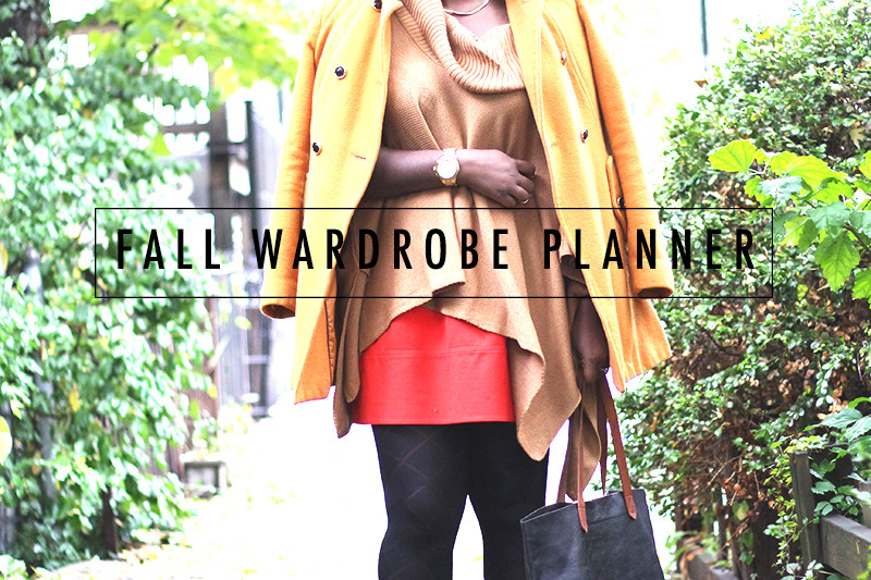 Getting ready for Fall – featuring a Free fall wardrobe planner!
