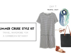 What I'm wearing for a sunny little getaway | Summer Cruise Style Kit