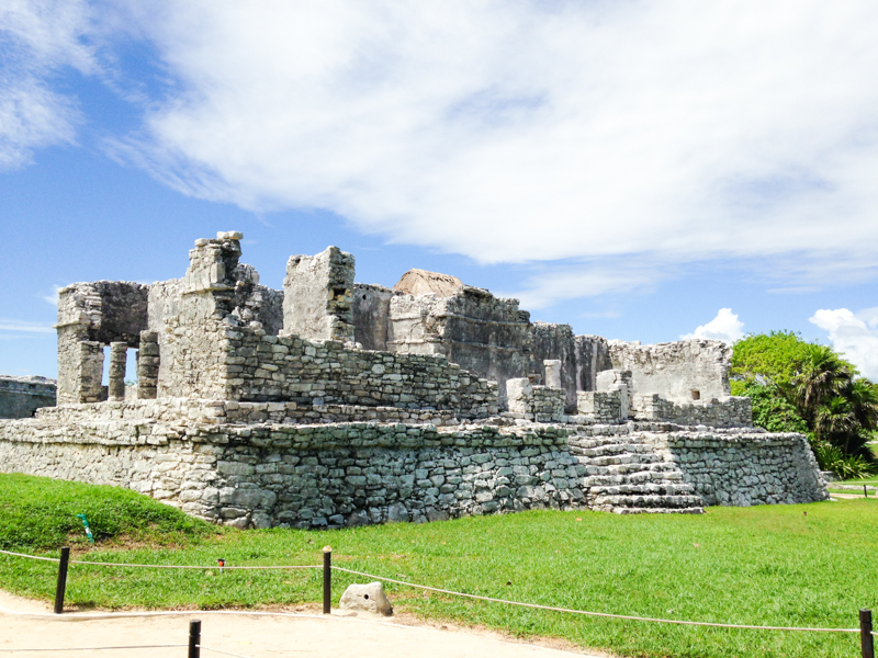 tulum honeymoon mayan ruins