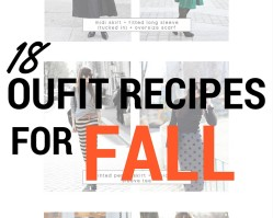 18 Outfit Recipes for Fall