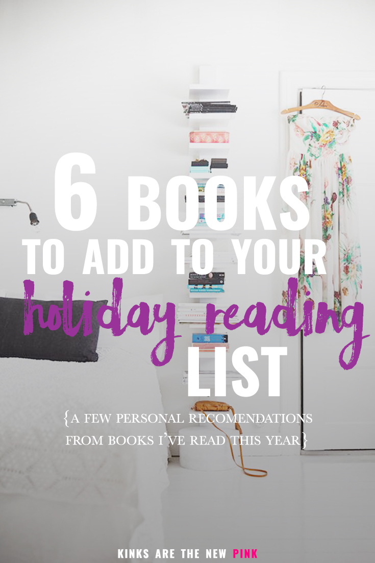 6 books I personally recommend reading before the end of the year
