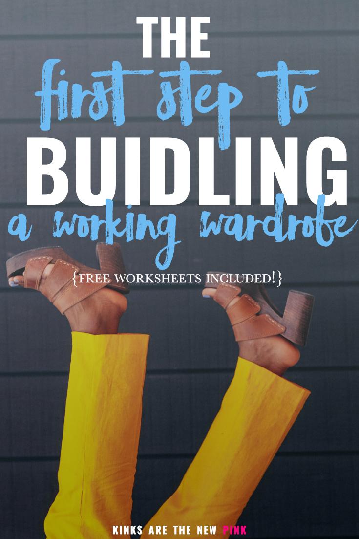 building a working wardrobe